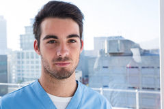 Portrait of handsome surgeon Royalty Free Stock Photo
