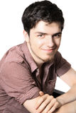 Portrait of handsome teenager Royalty Free Stock Photography