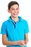 Portrait of handsome teenager Royalty Free Stock Photos