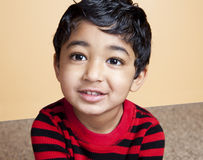 Portrait of a Handsome Toddler royalty free stock photos