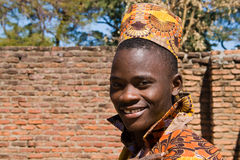 Portrait of a handsome young African man. Stock Images