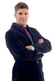 Portrait of handsome young businessman Royalty Free Stock Photos