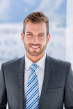 Portrait of a handsome young businessman Royalty Free Stock Photography