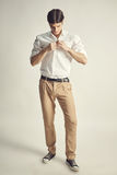 Portrait of an handsome young businessman Royalty Free Stock Images