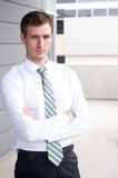 Portrait of a handsome young businessman Stock Photography