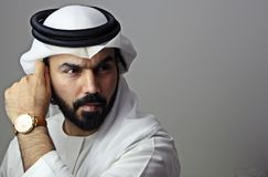 Portrait Of A Handsome Young Confident Arab Businessman   Handsome Attractive Model