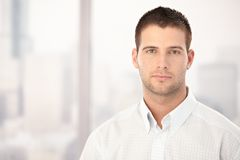 Portrait of handsome young man Royalty Free Stock Image
