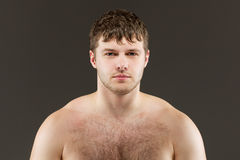 Portrait of handsome young man Royalty Free Stock Photography