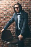 Elegant classic suit stock photography