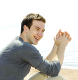 Portrait of a handsome young man Stock Photography
