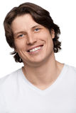 Portrait of handsome young man smiling Royalty Free Stock Photography