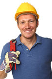 Portrait of handyman Royalty Free Stock Images