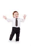 Portrait of a happy adorable baby Stock Photos