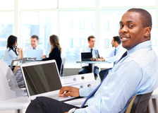 Portrait of a happy African American Stock Photography