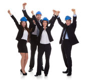 Portrait Of Happy Architect People Royalty Free Stock Photography