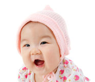 Portrait of happy Asian baby girl Stock Image