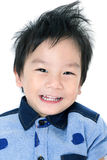 Portrait of Happy Asian child Royalty Free Stock Photo