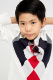 Portrait of Happy asian cute boy with smile face Royalty Free Stock Image