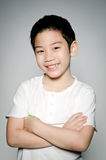 Portrait of Happy asian cute boy Stock Photography