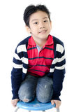 Portrait of Happy asian cute boy Stock Images