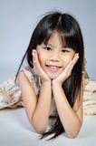 Portrait Of happy asian cute Girl Stock Photos
