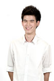 Portrait of a happy Asian teenage Royalty Free Stock Photos