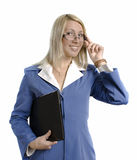 Portrait of a happy attractive business woman Royalty Free Stock Photo