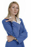 Portrait of a happy attractive business woman Royalty Free Stock Image
