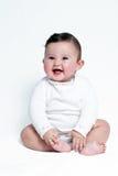 Portrait happy baby Stock Images