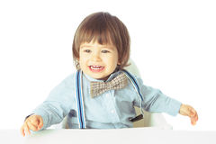 Portrait of happy baby Royalty Free Stock Photo