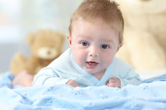 Portrait of a happy baby looking at you Royalty Free Stock Photography