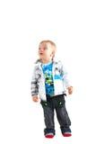 Portrait of happy beautiful little boy i Stock Photo