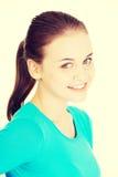Portrait of happy beautiful woman Stock Photo