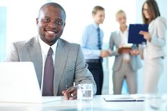 Successful leader Royalty Free Stock Photo