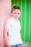 Portrait of happy boy Stock Images