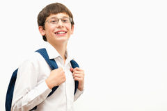 Portrait of a happy boy. Royalty Free Stock Images
