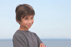 Portrait of a happy boy Royalty Free Stock Photography