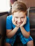 Portrait of a happy boy Stock Photography