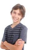 Portrait of a happy boy Stock Photos