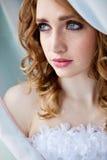 Portrait of happy bride Stock Photography