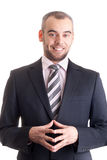 Portrait of a happy business man Royalty Free Stock Photography