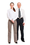 Portrait of happy business people Royalty Free Stock Images