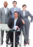 Portrait of a happy business team Royalty Free Stock Photography