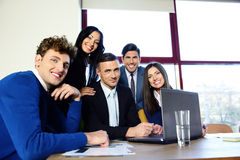 Portrait of a happy business team Royalty Free Stock Images