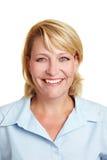 Portrait of happy business woman Stock Photos