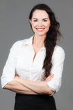 Portrait of happy business woman Royalty Free Stock Photos