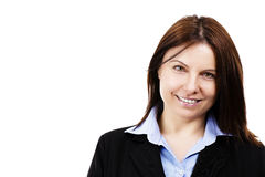Portrait of a happy business woman Royalty Free Stock Image