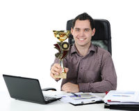 Portrait of a happy businessman Royalty Free Stock Photos
