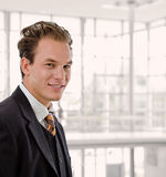 Portrait of happy businessman Royalty Free Stock Images