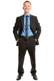 Portrait of a happy businessman Royalty Free Stock Photo
